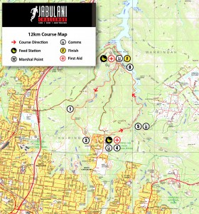 12km Course Map