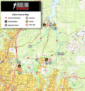22km Course Map